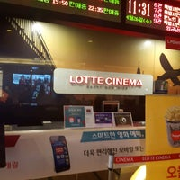 Photo taken at LOTTE CINEMA Incheon by Seung Mo J. on 4/26/2017