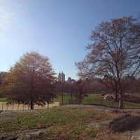 Photo taken at Central Park North Meadow Field 6 by Alan J. on 11/17/2012
