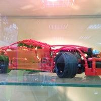Снимок сделан в GameBrick. музей-выставка моделей из кубиков LEGO пользователем Денис Б. 9/28/2013