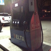 Photo taken at Delta Gas Station by Jim B. on 12/20/2012
