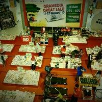 Photo taken at Gramedia by Iwok A. on 1/24/2013