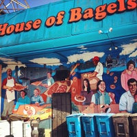 Photo taken at House Of Bagels by Eric M. on 3/22/2013