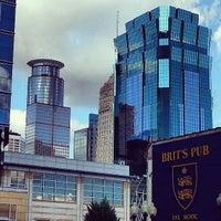 Photo taken at Brit's Pub & Eating Establishment by Jason P. on 7/28/2013