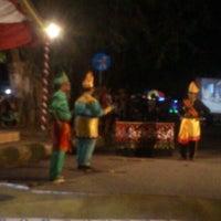 Photo taken at Lapangan tugu pelaihari by Tika s. on 1/5/2013