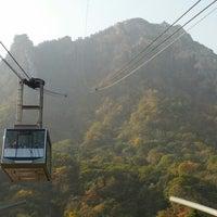 Photo taken at Sorak Cable Car by Kim B. on 10/26/2012
