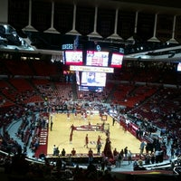 Photo taken at Lloyd Noble Center by Matt B. on 3/2/2013