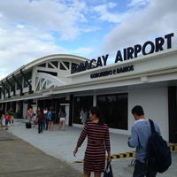 Photo taken at Godofredo P. Ramos Airport (Boracay Airport) / Caticlan Airport (MPH/RPVE) by Rian C. on 3/26/2013