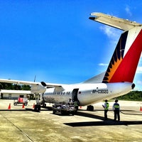 Photo taken at Godofredo P. Ramos Airport (Boracay Airport) / Caticlan Airport (MPH/RPVE) by Rian C. on 3/23/2013