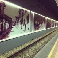 Photo taken at Osmangazi Metro İstasyonu by 🍎 E. on 3/7/2013