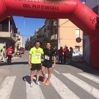 Photo taken at Vilanova de Bellpuig by Jaume C. on 6/1/2014