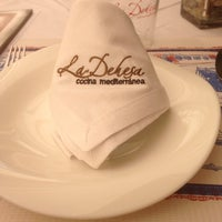 Photo taken at La Dehesa Restaurante by Pablo Á. on 7/9/2014
