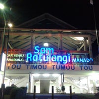 Photo taken at Sam Ratulangi International Airport (MDC) by Youdei E. on 5/2/2013