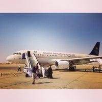 Photo taken at Prince Nayef Bin Abdulaziz International Airport (ELQ) by Ahmed A. on 6/26/2013