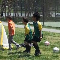 Photo taken at Stoddert Soccer @ Carter Baron Fields by Mrs. A. A. A. B. on 5/4/2013