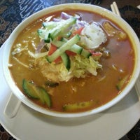 Photo taken at Mutiara Malaysian Restaurant by Brian Y. on 7/3/2013