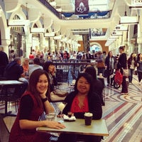 Photo taken at QVB Bar Cafe by mei mei on 4/25/2013