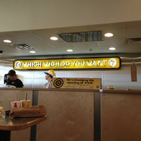 Photo taken at Which Wich? Superior Sandwiches by Greg B. on 12/22/2012