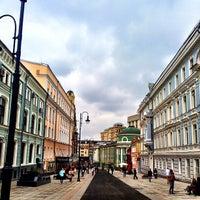Photo taken at Bolshaya Dmitrovka Street by Anton Z. on 9/8/2013