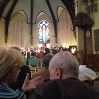 Photo taken at Packer Memorial Church by Cheryl B. on 5/3/2014
