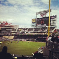 Photo taken at Target Plaza @ Target Field by DJ Fade on 7/21/2013