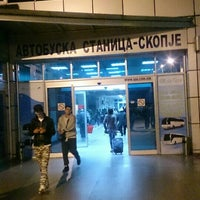 Photo taken at Автобуска станица Скопје / Skopje Bus Station by Димитар С. on 10/25/2015