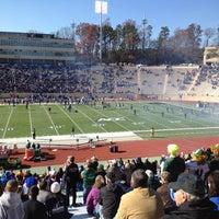 Photo taken at Brooks Field at Wallace Wade Stadium by Joyce K. on 11/24/2012