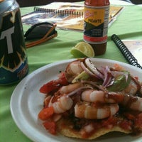 Photo taken at Mariscos Towi by Mariano C. on 9/15/2012