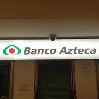 Photo taken at Banco Azteca by Mariano C. on 1/8/2014