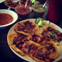 Photo taken at tacos by Mariano C. on 10/3/2013