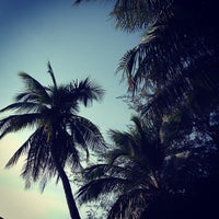 Photo taken at Bang Saen Beach by D R E A M ʕ. on 12/16/2012