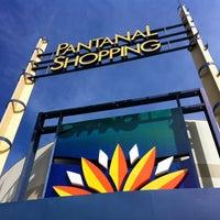 Photo taken at Pantanal Shopping by Denise N. on 5/8/2013