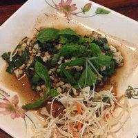 Photo taken at ครกไม้ไทยลาว by Phatphicha T. on 5/19/2013