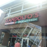 Photo taken at Gandolfo's New York Deli by Rob R. on 8/23/2013