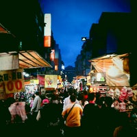 Photo taken at Miaokou Night Market by Jack C. on 11/15/2012