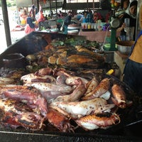 Photo taken at Medan Ikan Bakar Bellamy by Zana A. on 1/26/2013