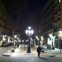 Photo taken at Passeig del Born by Pemi S. on 3/2/2016