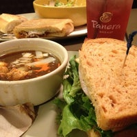 Photo taken at Panera Bread by Arlene V. on 12/12/2012