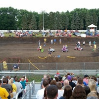 Photo taken at Dakota County Fairgrounds by Patrick D. on 8/9/2014