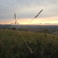 Photo taken at Dunstable Downs by Sam G. on 10/20/2012