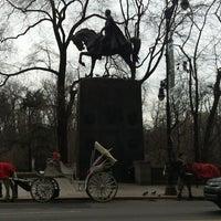1/15/2013 tarihinde Simon T.ziyaretçi tarafından Simon Bolivar Statue'de çekilen fotoğraf