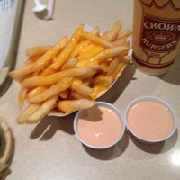 Photo taken at Crown Burger by Chelby P. on 10/20/2012