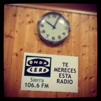 Photo taken at Onda Cero Sierra by Adrián on 5/3/2013