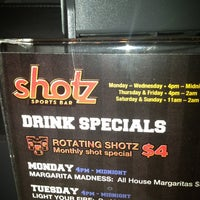 Photo taken at shotZ by Maine D. on 1/21/2013