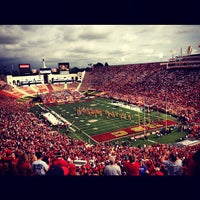 Photo taken at Los Angeles Memorial Coliseum by Blake S. on 10/21/2012
