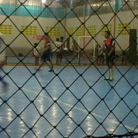 Photo taken at Bagoes Futsal by Ari W. on 8/2/2013