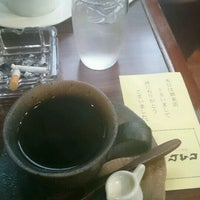 Photo taken at カフェ グレコ by ノブヲ on 11/6/2016