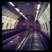 Photo taken at Metro =C= I. P. Pavlova by Josh W. on 5/9/2013