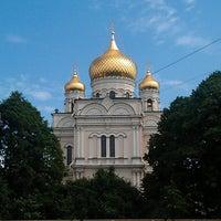 Photo taken at Воскресенский Новодевичий женский монастырь by Josh W. on 6/6/2013