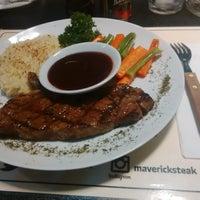 Photo taken at Maverick Steak House by Hari Wijayanto on 6/14/2014