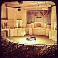 Photo taken at Tchaikovsky Concert Hall by max2stix on 11/26/2012